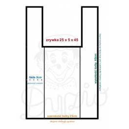 Torba foliowa  51mic 25/6/45 pakiet-50szt)